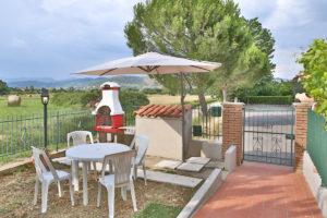 Venere - giardino con barbecue
